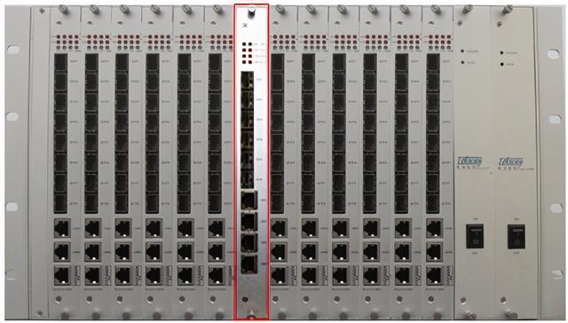 100光口汇聚交换机--网络摄像机光纤传输组网