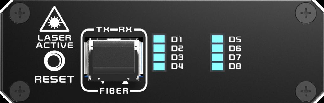 KDX-2240接收端前面板