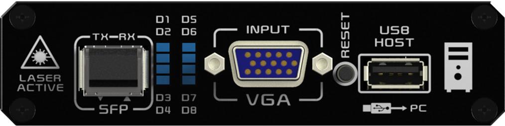 KVFX-4246发送端前面板