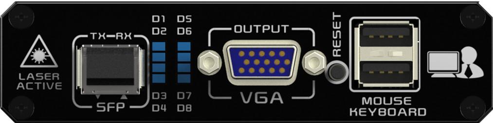 KVFX-4246接收端前面板
