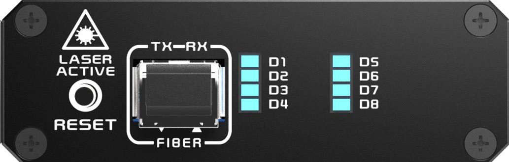 KHX-2240接收端前面板