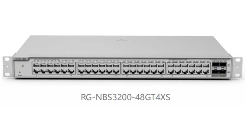 RG-NBS3200-48GT4XS48口千兆接入万兆上联二层网管交换机
