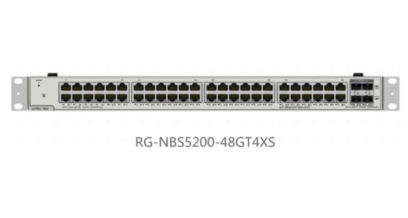 RG-NBS5200-48GT4XS48口千兆接入万兆上联三层网管交换机
