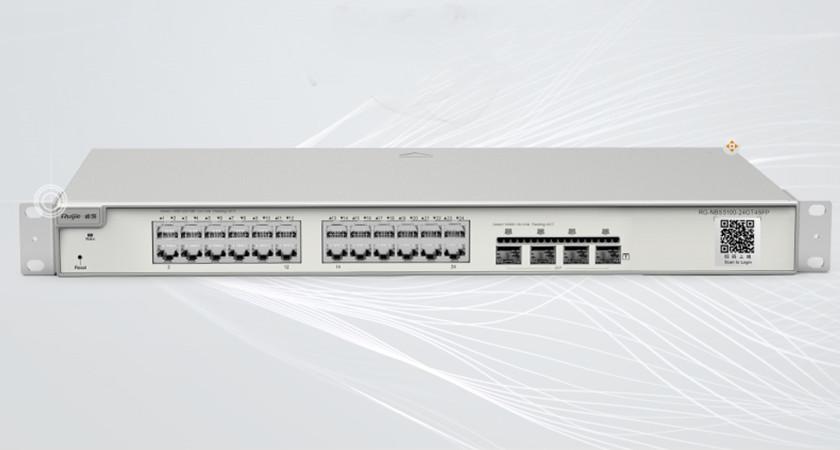 RG-NBS5100-24GT4SFP24口千兆接入千兆上联三层网管交换机