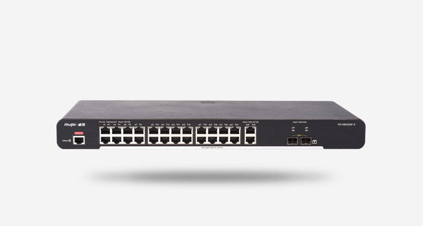 RG-NBS228F-E smart网管交换机