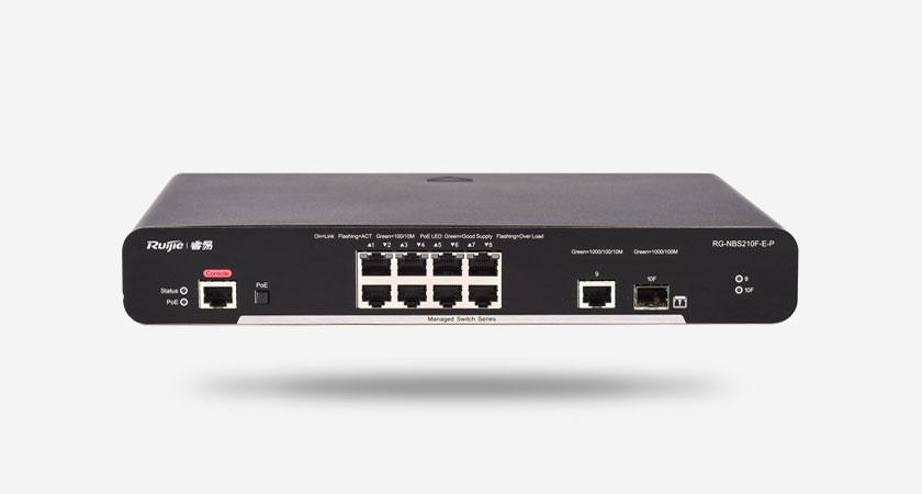 RG-NBS210F-E-P smart网管交换机