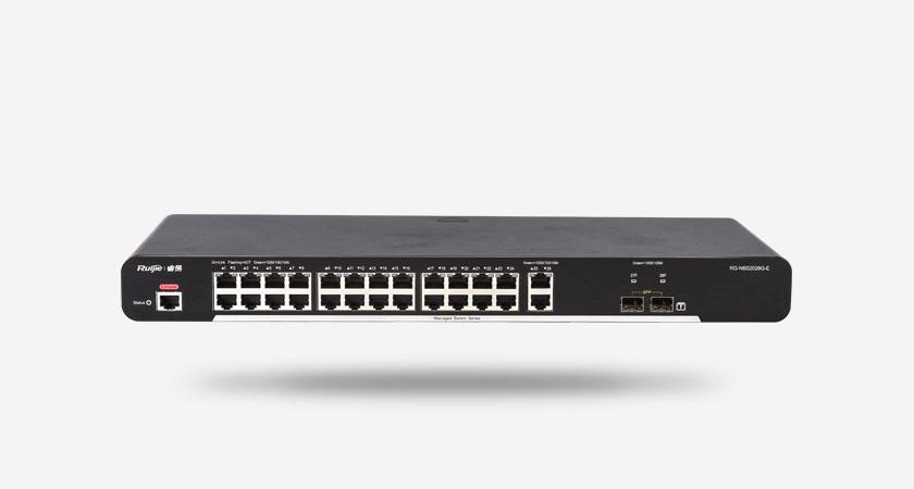 RG-NBS2028G-E smart网管交换机