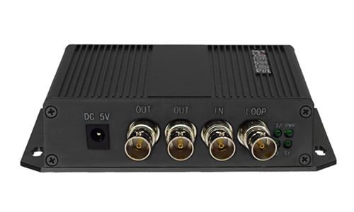 武汉多业务高清视频光端机 HJ-GAN-SDI02