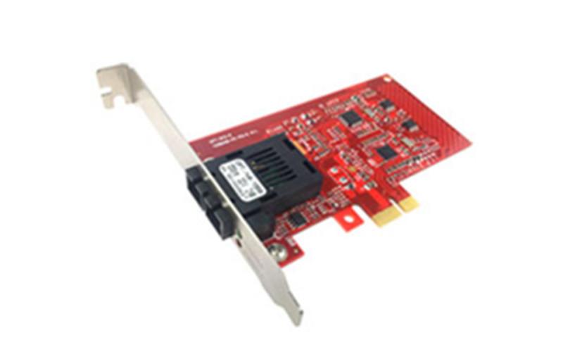 武汉百兆PCI-E光纤网卡 OPT-911