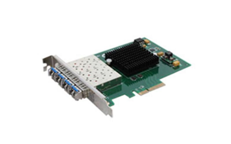 武汉千兆PCI-E四光口光纤网卡 OPT-950