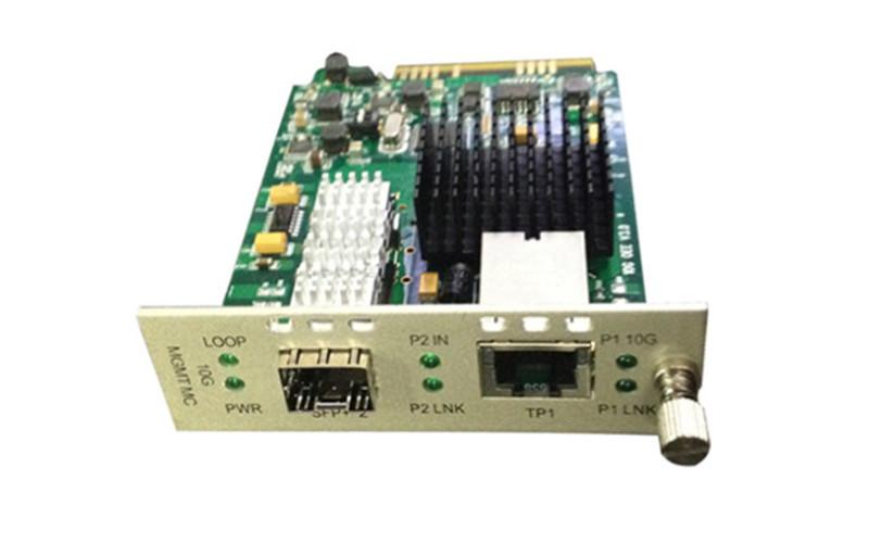 武汉卡式万兆光纤收发器
