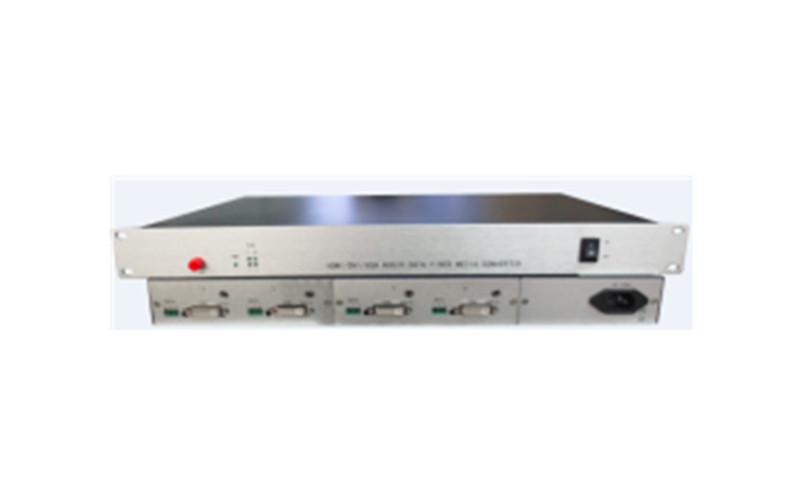 武汉4路混合视频光端机 HTXD5004