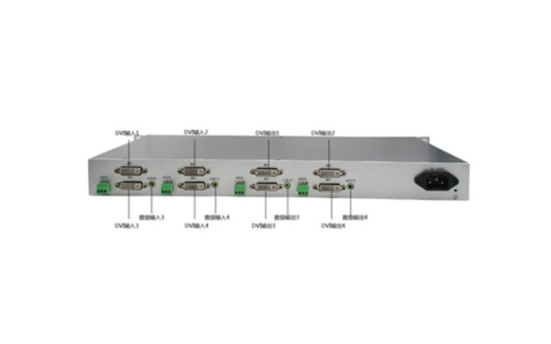 武汉8路混合视频光端机 HTXD5008