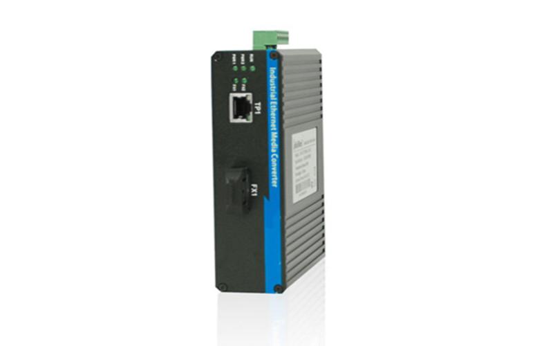 武汉千兆1光1电工业级光纤收发器