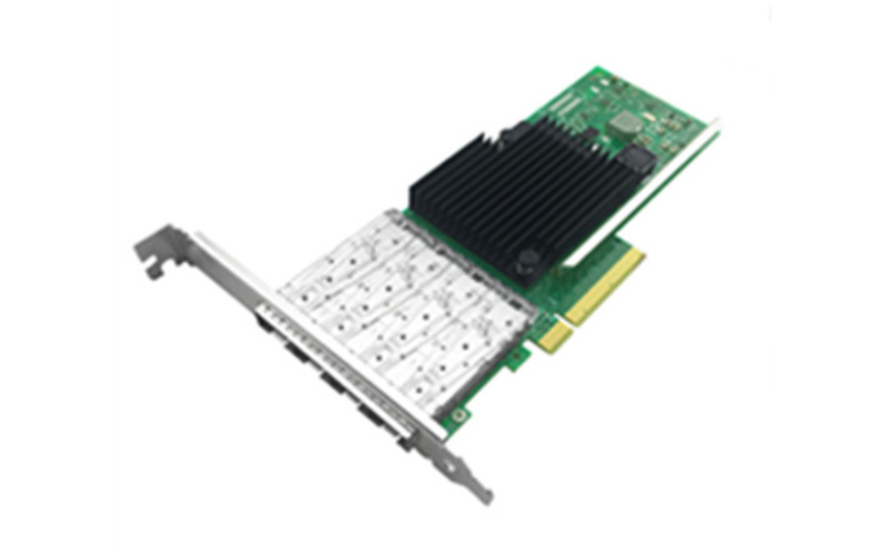 武汉万兆服务器四端口光纤网卡